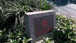 The OCBC Carved Stone